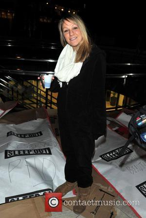 Chloe Madeley 'Sleep Out 2012' in aid of Centrepoint London, England - 08.11.12
