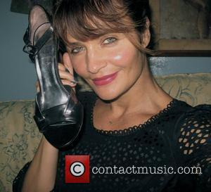 Helena Christensen  Small Steps Project: London Celebrity Shoe Auction 2012  A host of global celebrities have kindly donated...