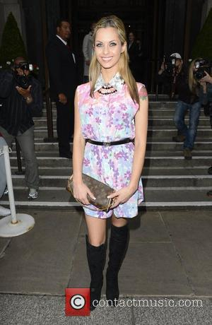 Jessica-Jane Clement  outside the Smart Girls Fake It party held at Marriott Hotel County Hall London, England - 19.07.12