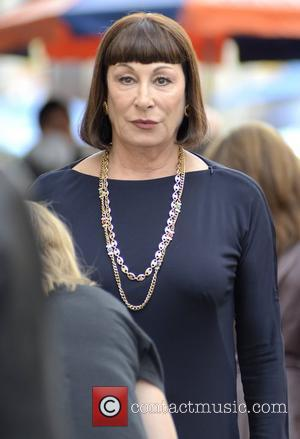 Anjelica Huston on the set of new NBC television show 'Smash' New York City, USA - 14.09.12