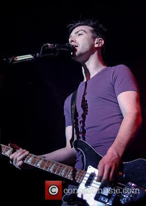 Paul Wilson of Snow Patrol performing at Liverpool Echo Arena. Liverpool, England - 31.01.12