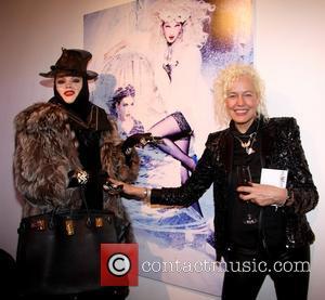 Daniel Lismore; Ellen von Unwerth Snow Queen Vodka Calender 2013 launch held at Gallery DIFFERENT  Featuring: Daniel Lismore, Ellen...