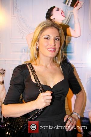 Hofit Golan Snow Queen Vodka Calender 2013 launch held at Gallery DIFFERENT  Featuring: Hofit Golan Where: London, United Kingdom...