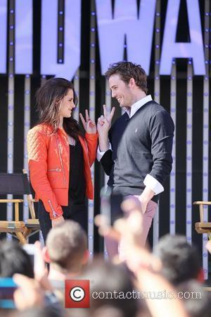 Kristen Stewart and Chris Hemsworth