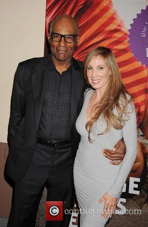 Michael Dorn and Cindy Cowan