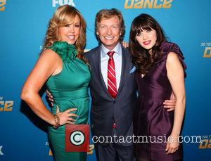 Mary Murphy, Nigel Lythgoe and Zooey Deschanel