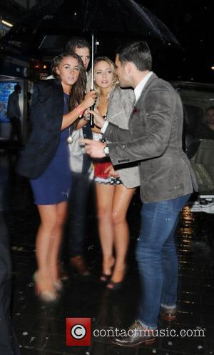 Brooke Vincent, Mark Wright and Cafe De Paris