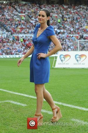 Kirsty Gallagher  Soccer Aid 2012 in support of UNICEF UK held at Old Trafford Manchester, England - 27.05.12