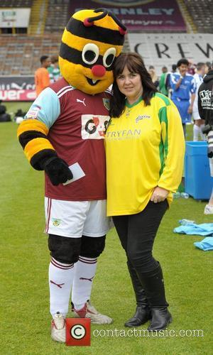 Coleen Nolan Celebrity Soccer Six - Burnley at Burnley Football Club Burnley, England - 02.06.12