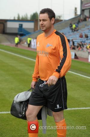Danny Dyer  Celebrity Soccer Six - Burnley at Burnley Football Club Burnley, England - 02.06.12