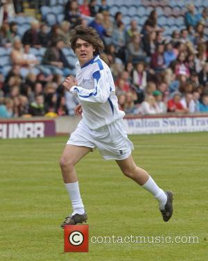 Frankie Cocozza Celebrity Soccer Six - Burnley at Burnley Football Club Burnley, England - 02.06.12