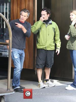 Timothy Olyphant  Celebrities out and about in Soho New York City, USA - 30.03.12