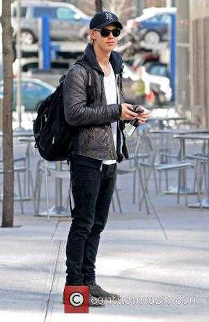 Austin Butler Celebrities out and about in Soho New York City, USA - 30.03.12