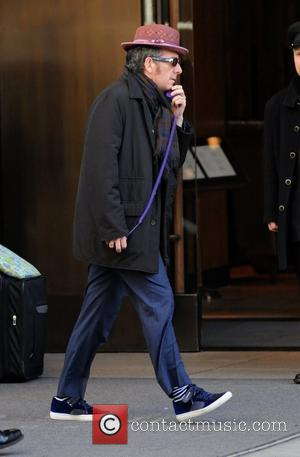 Elvis Costello Celebrities out and about in Soho New York City, USA - 30.03.12