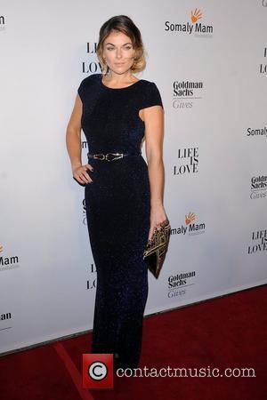 Serinda Swan at the 2012 Somaly Mam Foundation Gala - Red Carpet Arrivals. New York City, USA - 17.10.12