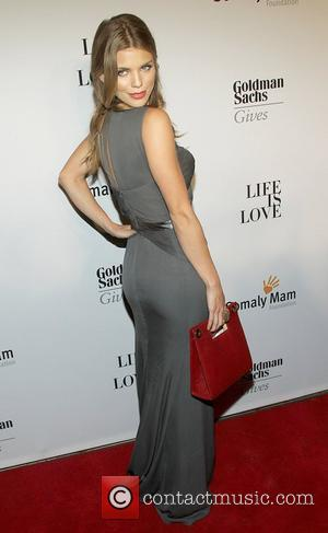Annalynne McCord  attends the Somaly MAM Foundation Gala