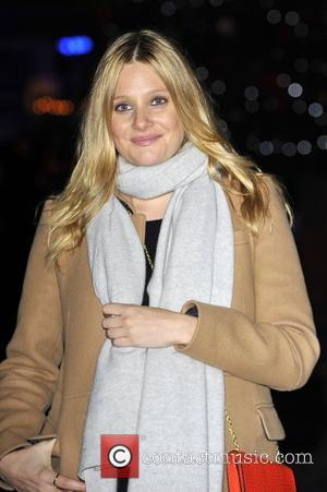 Romola Garai,  at the launch party for the Somerset House Ice Rink at Somerset House. London, England - 15.11.12