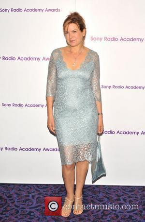 Penny Smith 30th Sony Radio Academy Awards held at the Grosvenor House - Arrivals. London, England - 14.05.12