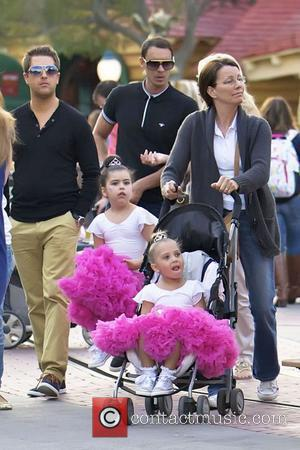 Internet sensations Sophia Grace Brownlee and Rosie McClelland spend the day at Disneyland with family members Anaheim, California - 21.02.12