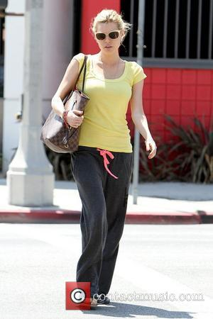 Sophie Monk dressed casually as she goes to visit a friend in West Hollywood Los Angeles, California - 03.07.12