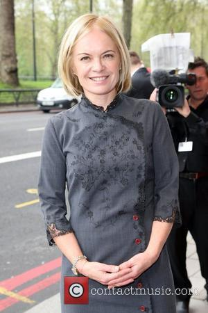 Mariella Frostrup The South Bank Sky Arts Awards 2012 - outside arrivals held at the Dorchester London, England - 01.05.12