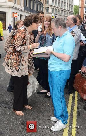 Cherie Blair  Monty Python's Spamalot at the Harold Pinter Theatre - Arrivals London, England - 31.07.12