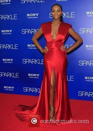 Tika Sumpter New York screening of 'Sparkle' starring the late Whitney Houston at the Tribeca Grand Hotel - Inside Arrivals...