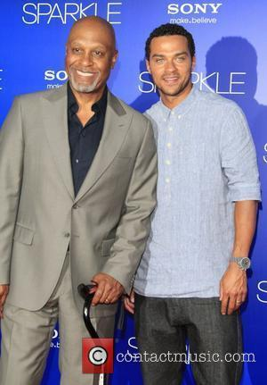 James Pickens Jr. and Jesse Williams The Los Angeles Premiere of 'Sparkle' - Inside Arrivals  Los Angeles, California -...