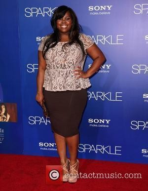 Amber Riley The Los Angeles Premiere of 'Sparkle' - Inside Arrivals Los Angeles, California - 16.08.12