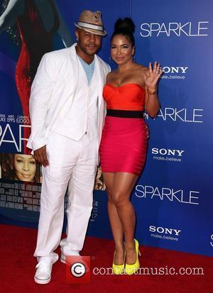 Rockmond Dunbar and Maya Gilbert The Los Angeles Premiere of 'Sparkle' - Inside Arrivals Los Angeles, California - 16.08.12
