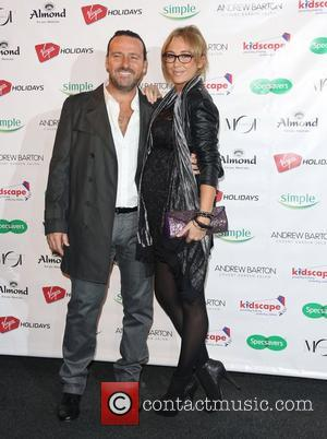 Jenny Frost and Vicente Juan Spiteri