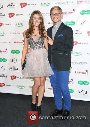 Jeff Brazier and girlfriend Nicola T Specsavers Spectacle Wearer of the Year 2012 held at Battersea Power Station - Arrivals...