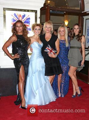 Melanie Brown, Mel B, Geri Halliwell, Judy Craymer, Melanie Chisholm, Mel C and Emma Bunton