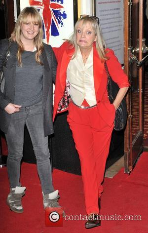 Twiggy and guest Viva Forever VIP night held at the Piccadilly Theatre - Arrivals. London, England - 11.12.12