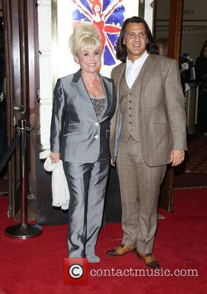 Barbara Windsor and Scott Mitchell VIVA Forever Spice Girls the Musical held at the Piccadilly Theatre- Arrivals London, England -...