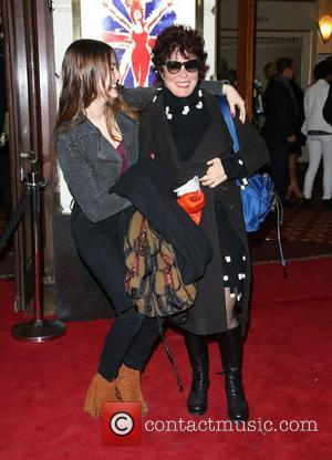 Ruby Wax with her daughter VIVA Forever Spice Girls the Musical held at the Piccadilly Theatre- Arrivals London, England -...
