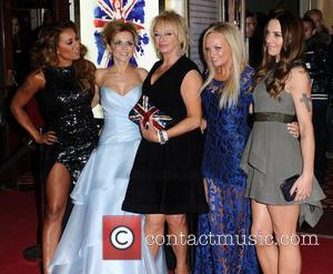 Mel B, Geri Halliwell, Judy Craymer, Emma Bunton, Mel C, Viva Forever, Piccadilly Theatre, London and England