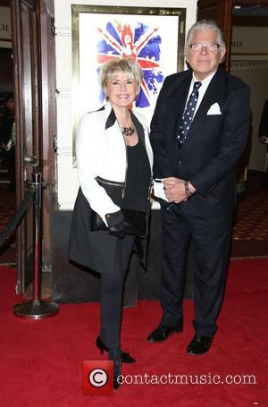 Gloria Hunniford and husband Don Keating VIVA Forever Spice Girls the Musical held at the Piccadilly Theatre- Arrivals London, England...