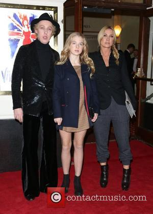 James Brown, Anais Noel Gallagher and Meg Mathews