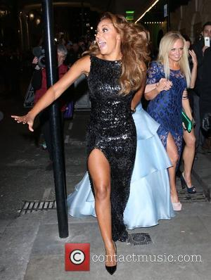 Melanie Brown, Mel B, Geri Halliwell and Emma Bunton