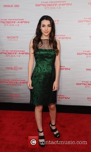 Hannah Marks Los Angeles premiere of 'The Amazing Spider-Man' held at the Regency Village Theatre - Arrivals Westwood, California -...