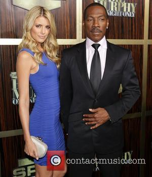 Eddie Murphy and Paige Butcher Spike TV's 'Eddie Murphy: One Night Only' at the Saban Theatre Beverly Hills, California -...