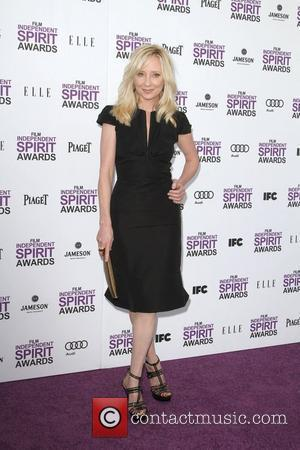 Anne Heche 27th Annual Independent Spirit Awards- Arrivals- Santa Monica Beach Los Angeles, California - 25.02.12
