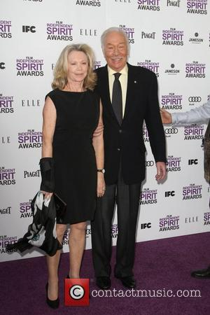 Christopher Plummer 27th Annual Independent Spirit Awards- Arrivals- Santa Monica Beach Los Angeles, California - 25.02.12