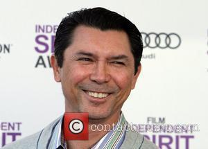 Lou Diamond Phillips 27th Annual Independent Spirit Awards at Santa Monica Beach - Arrivals Los Angeles, California - 25.02.12