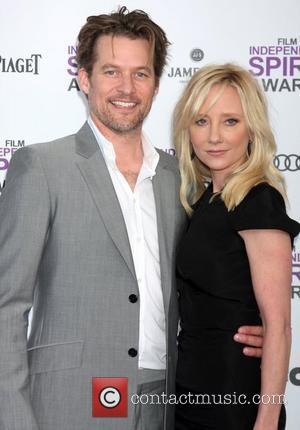 James Tupper and Anne Heche  27th Annual Independent Spirit Awards at Santa Monica Beach - Arrivals Los Angeles, California...