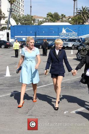 Busy Philipps, Michelle Williams and Independent Spirit Awards