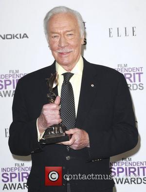 Christopher Plummer  27th Annual Independent Spirit Awards at Santa Monica Beach - Press Room Los Angeles, California - 25.02.12