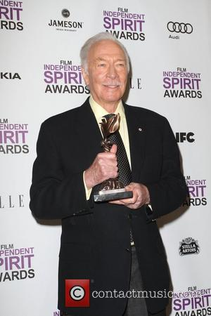 Christopher Plummer 27th Annual Independent Spirit Awards - Press Room Los Angeles, California - 25.02.12