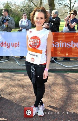 Kara Tointon Sainsbury's Sport Relief Mile 2012 - London London, England - 25.03.12